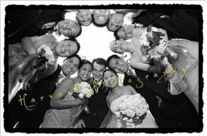 wedding-party-circle